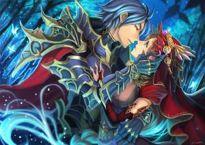 魔女と黒騎士完成
